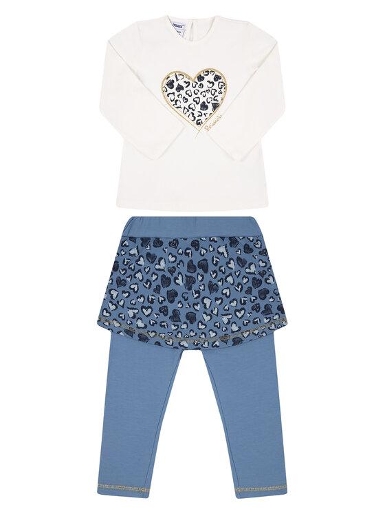 Primigi Primigi Komplet bluza i legginsy Mountain Glam 44191541 Kolorowy Regular Fit