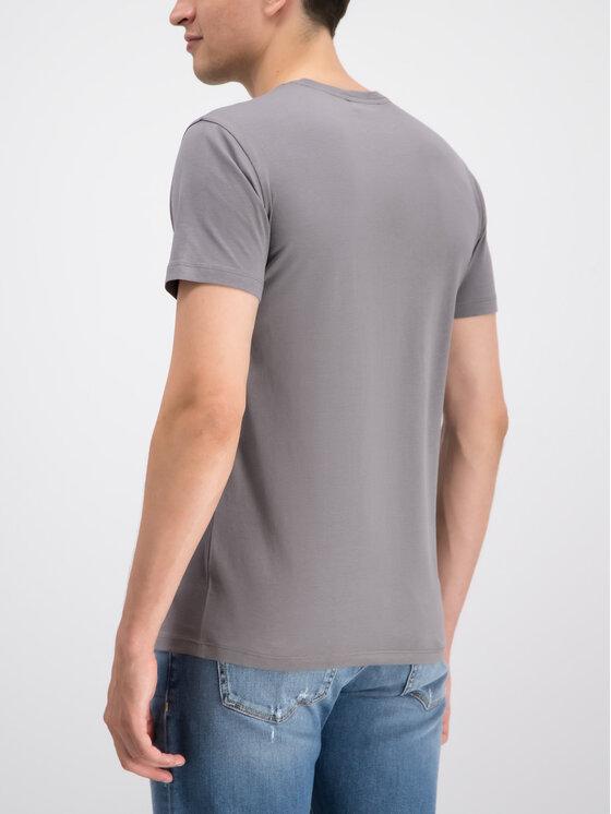 Trussardi Trussardi T-Shirt 52T00271 Szary Regular Fit