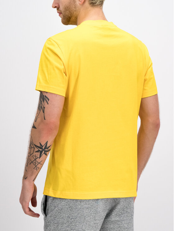 Champion Champion T-shirt 212946 Giallo Regular Fit
