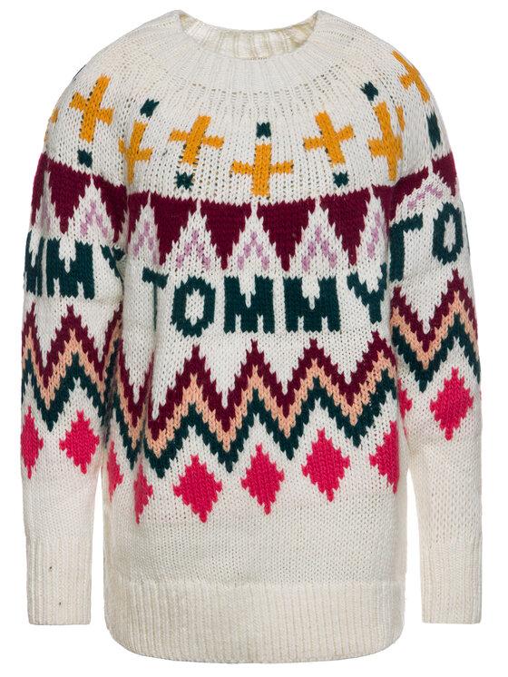 Tommy Jeans Tommy Jeans Sweater Tjw Fairisle DW0DW07188 Színes Regular Fit