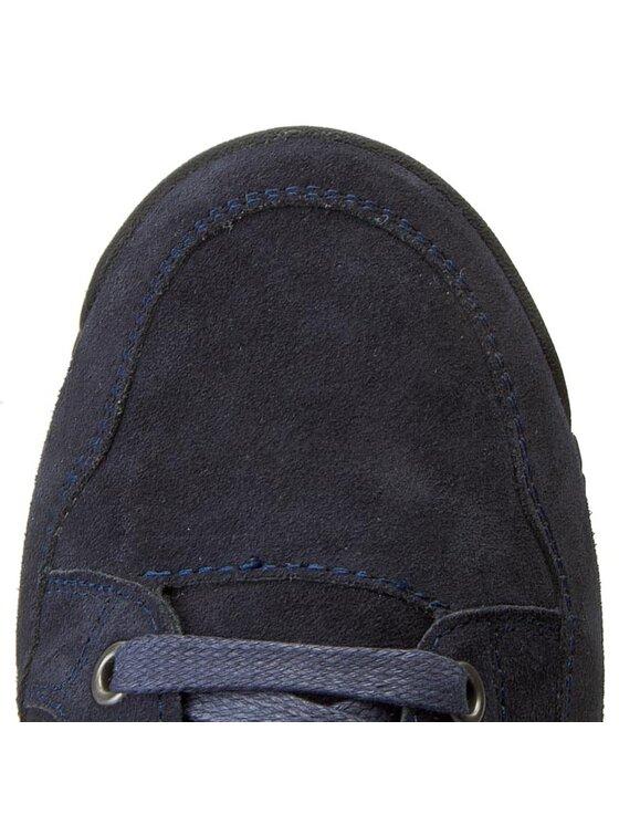 Armani Jeans Armani Jeans Kotníková obuv B6567 97 L8 Tmavomodrá