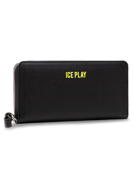 Ice Play Didelė Moteriška Piniginė 21E W2M1 7302 6960 9000 Juoda