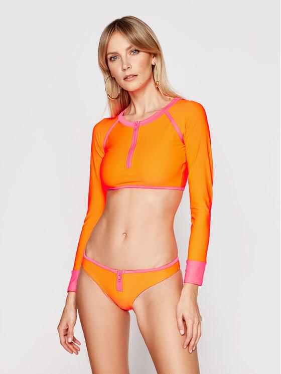 Drivemebikini Bikinis 1980 Twopiece 2016-DRV-005_OP Oranžinė
