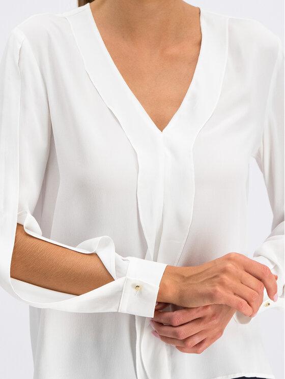 Pennyblack Pennyblack Bluzka Elio 11110819 Biały Regular Fit