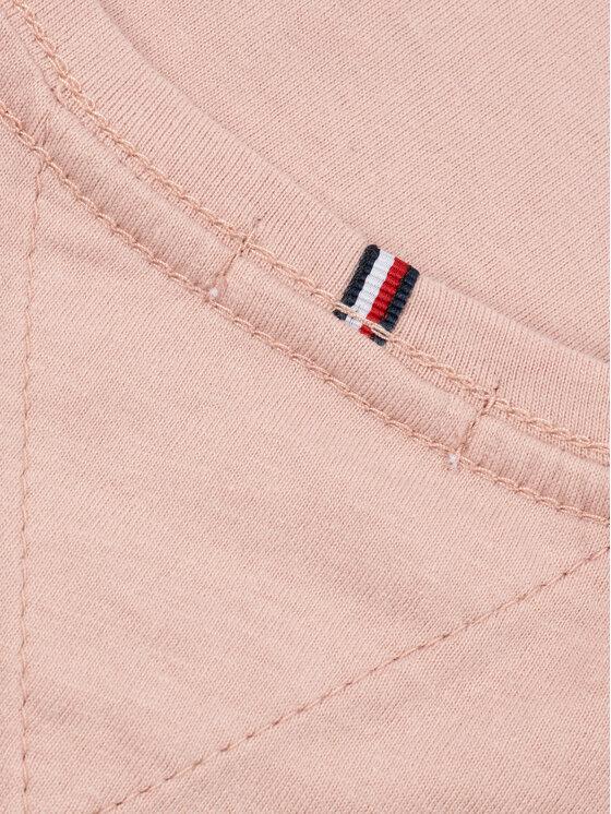 Tommy Hilfiger Tommy Hilfiger T-Shirt Tee KG0KG04865 M Różowy Regular Fit