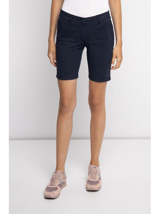 Napapijri Napapijri Pantaloncini di tessuto Noridian 1 N0YHH9 Blu scuro Regular Fit
