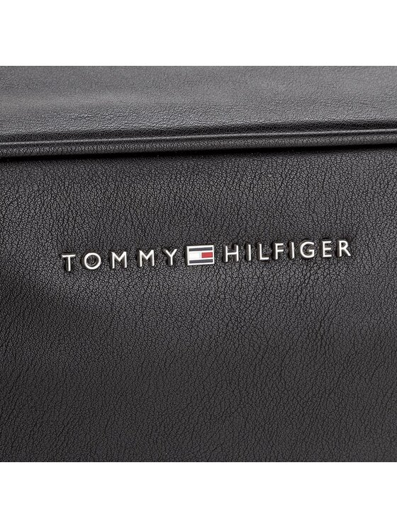 Tommy Hilfiger Tommy Hilfiger Pochette per cosmetici City Washbag AM0AM02673 Nero