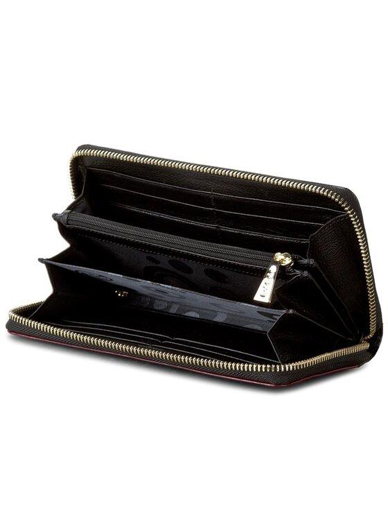 Baldinini Baldinini Veľká dámska peňaženka Paprika 676500TPB0237 Čierna