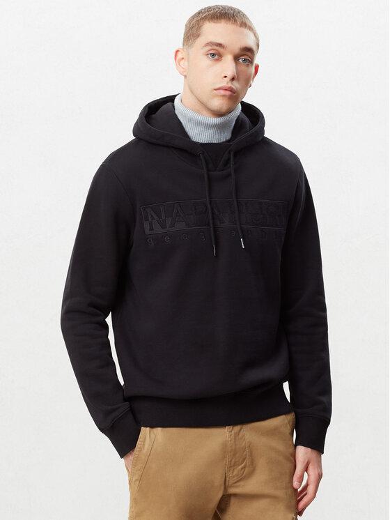 Napapijri Napapijri Sweatshirt Berber N0YIWP Noir Regular Fit