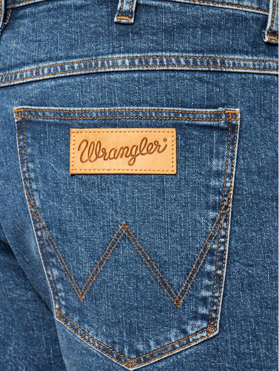 Wrangler Wrangler Τζιν σορτσάκια 5 Pocket W14CT112E Σκούρο μπλε Regular Fit