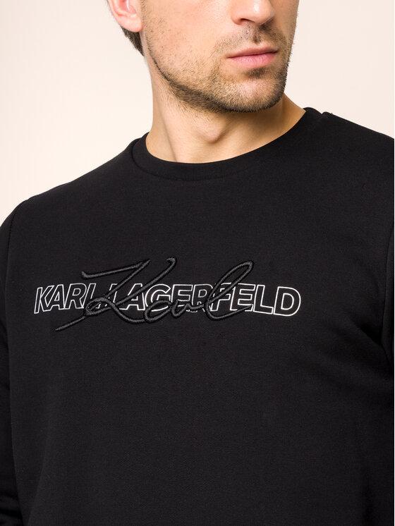 KARL LAGERFELD KARL LAGERFELD Mikina 705014 592910 Čierna Regular Fit