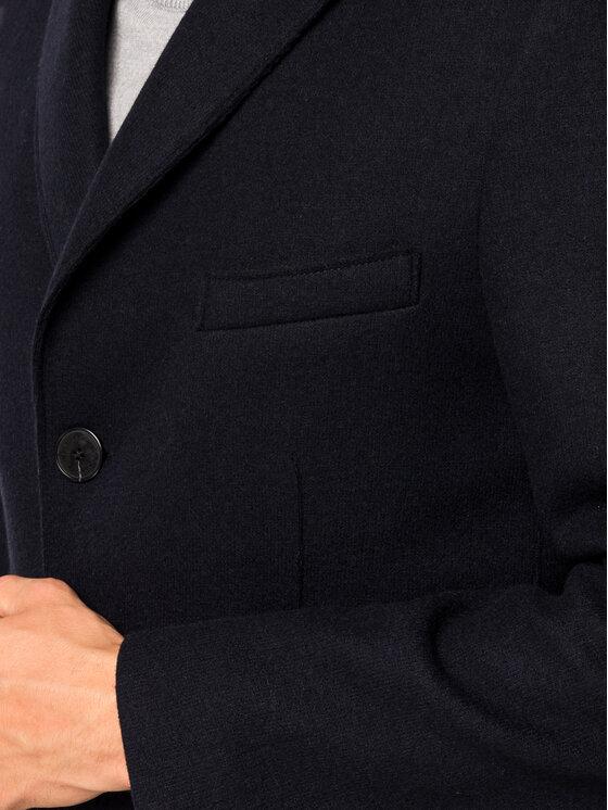 Roy Robson Roy Robson Вълнено палто 1985-98 Тъмносин Slim Fit