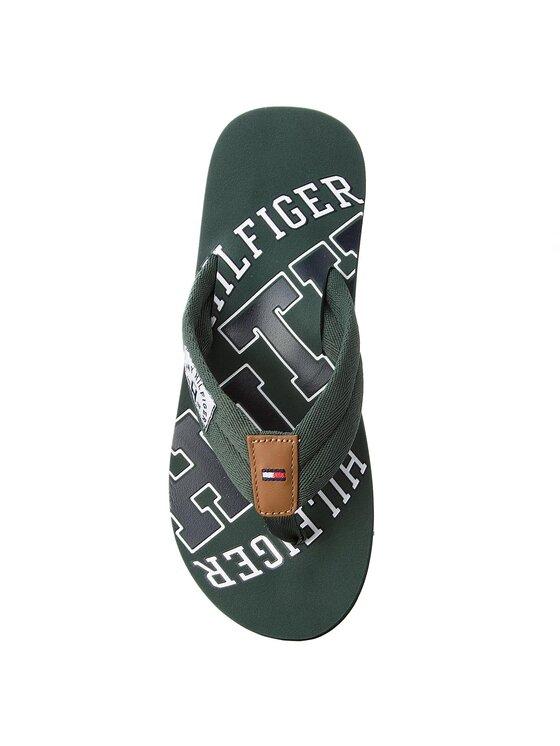 Tommy Hilfiger Tommy Hilfiger Flip flop Essential Th Beach Sandal FM0FM01369 Verde