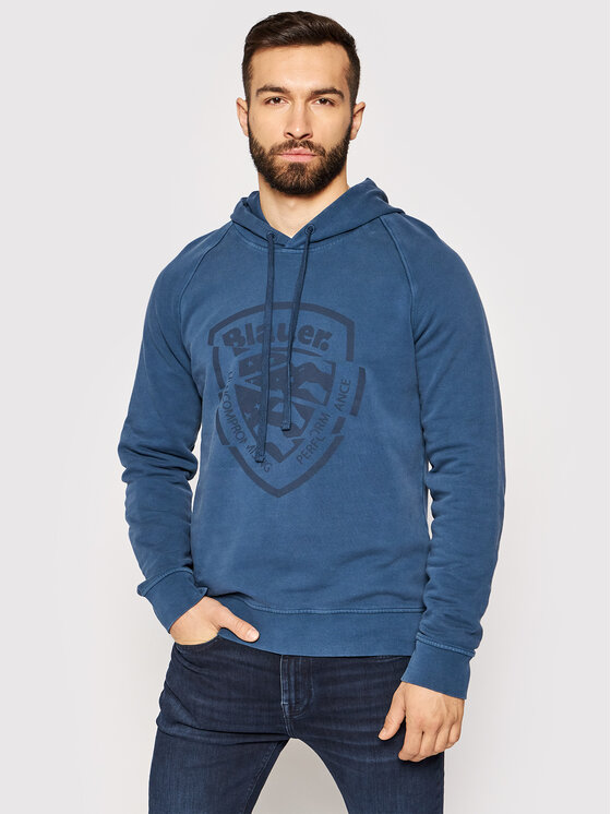 Blauer Džemperis 21SBLUF08408 006011 Mėlyna Regular Fit