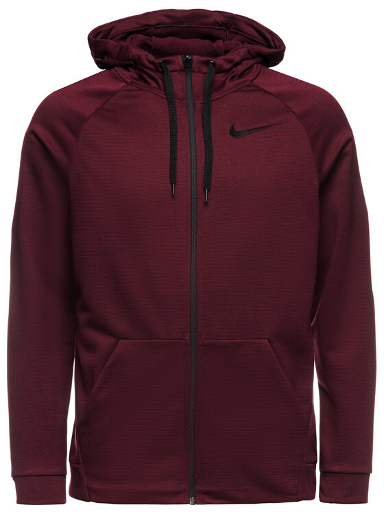 Nike Nike Суитшърт Dri-Fit 860465 Бордо Standard Fit