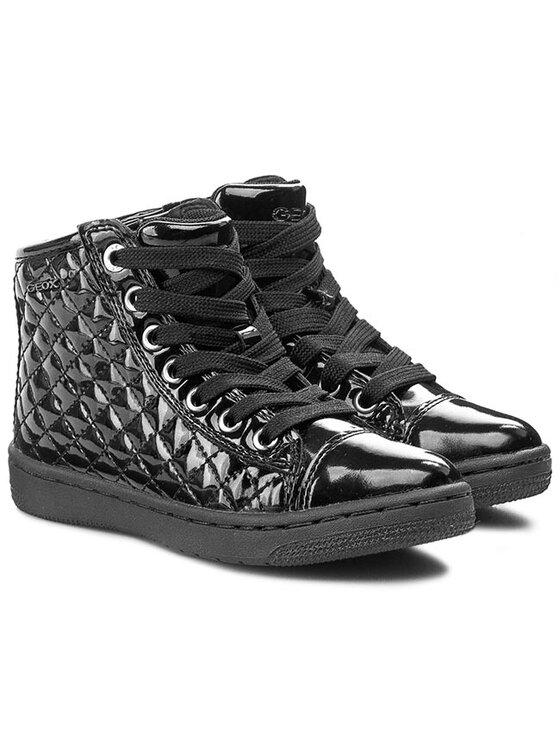 Geox Geox Laisvalaikio batai J Creamy E J54L5E 000HH C9999 /M Juoda
