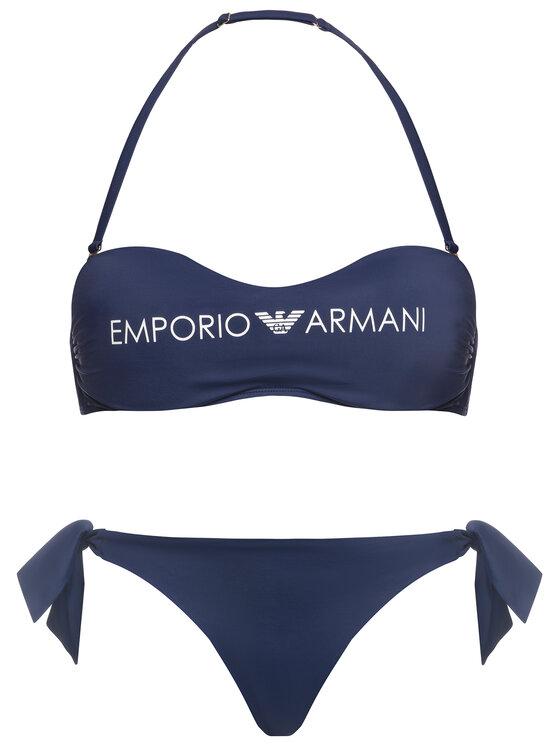 Emporio Armani Emporio Armani Bikiny 262636 0P313 15434 Modrá