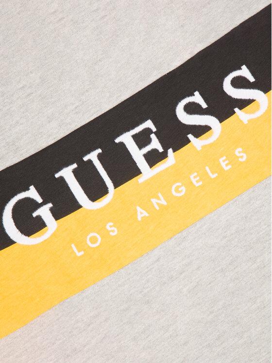 Guess Guess Tričko N01I07 K8650 Sivá Regular Fit