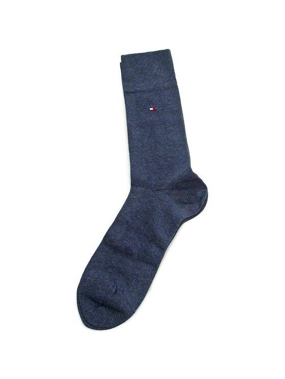 Tommy Hilfiger Tommy Hilfiger Set di 4 paia di calzini lunghi da uomo 372008001 Blu scuro