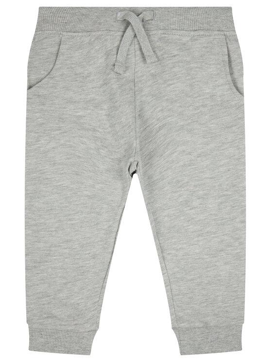 Guess Guess Spodnie dresowe Core N93Q17 K5WK0 Szary Regular Fit