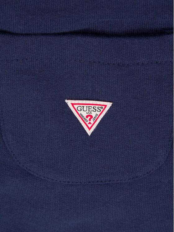 Guess Guess Pantalon jogging H01T02 K8D80 Bleu marine Regular Fit