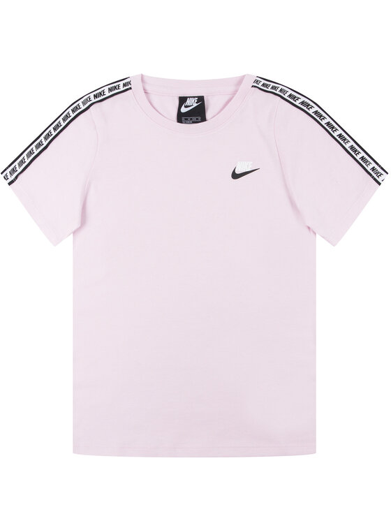 NIKE NIKE T-Shirt Essential AV8390 Różowy Regular Fit
