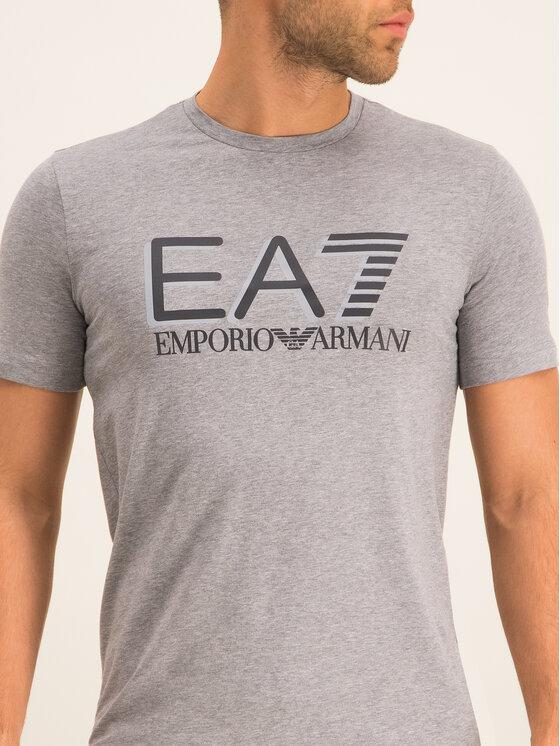 EA7 Emporio Armani EA7 Emporio Armani Marškinėliai 3HPT62 PJ03Z 3905 Pilka Slim Fit
