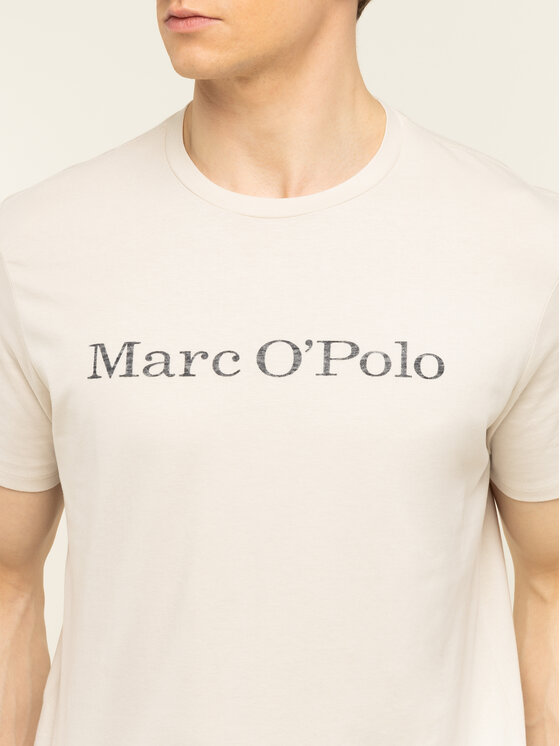 Marc O'Polo Marc O'Polo T-shirt 021 2220 51230 Beige Regular Fit