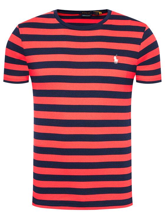 Polo Ralph Lauren Polo Ralph Lauren T-Shirt Classics 710823560002 Kolorowy Custom Slim Fit