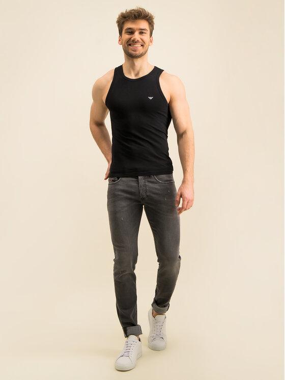 Emporio Armani Underwear Emporio Armani Underwear Tank top 110828 CC735 00020 Czarny Slim Fit