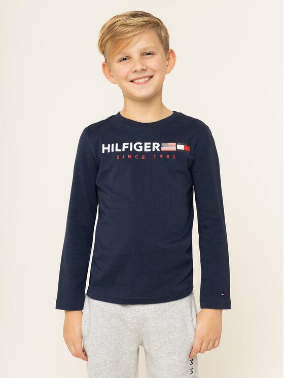 TOMMY HILFIGER TOMMY HILFIGER Blusa KB0KB04997 D Blu scuro Regular Fit