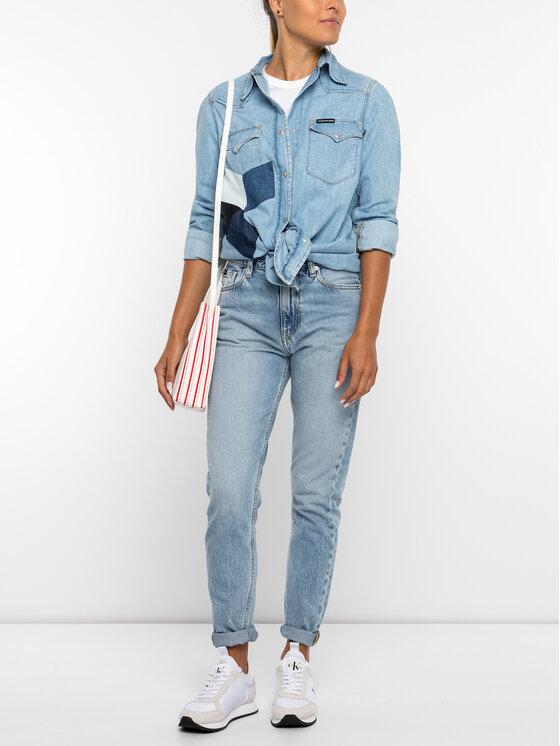 Calvin Klein Jeans Calvin Klein Jeans Ing J20J211421 Kék Regular Fit