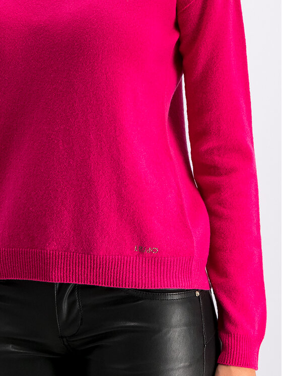Liu Jo Liu Jo Пуловер M69179 MA98I Розов Regular Fit