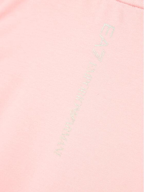 EA7 Emporio Armani EA7 Emporio Armani T-Shirt 3KFT51 FJ2HZ 1416 Różowy Regular Fit