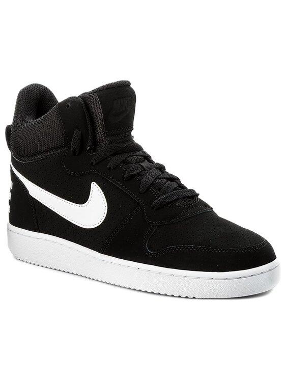 Nike Nike Обувки Court Borough Mid 838938 010 Черен