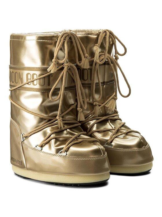 Moon Boot Moon Boot Stivali da neve Vinile Met. 14021400003 Oro
