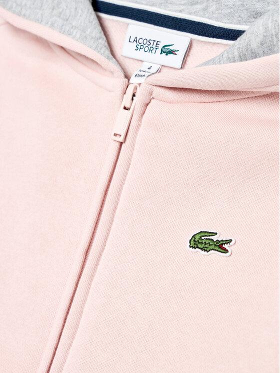 Lacoste Lacoste Bluza SJ2903 Różowy Regular Fit