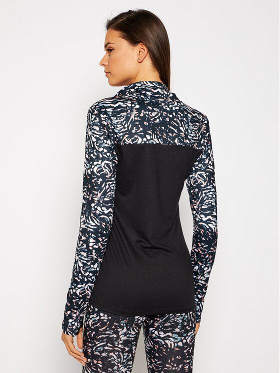 Roxy Roxy Koszulka techniczna For The First Time ERJKT03719 Czarny Regular Fit