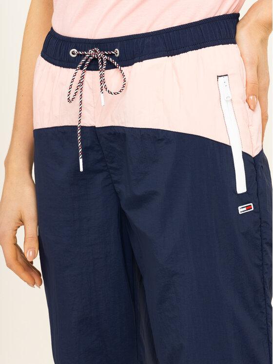 Tommy Jeans Tommy Jeans Παντελόνι φόρμας Colorblock DW0DW07699 Σκούρο μπλε Regular Fit