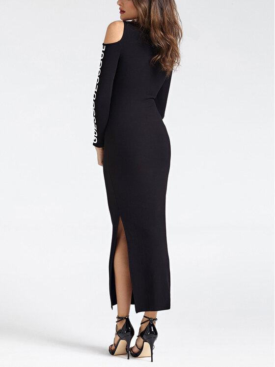 Guess Guess Hétköznapi ruha W93K72 K8RT0 Fekete Slim Fit