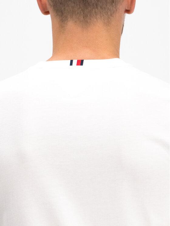 Tommy Hilfiger Tommy Hilfiger T-Shirt MW0MW10819 Biały Regular Fit