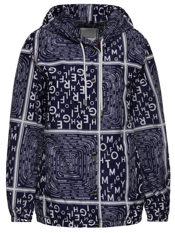 TOMMY HILFIGER TOMMY HILFIGER Átmeneti kabát WW0WW25146 Sötétkék Regular Fit