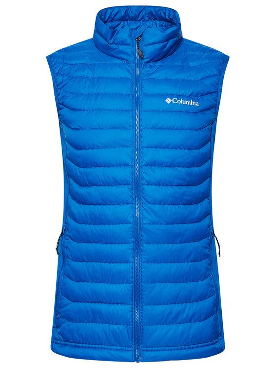 Columbia Columbia Kamizelka Powder Pass Vest 1842414 Niebieski Regular Fit