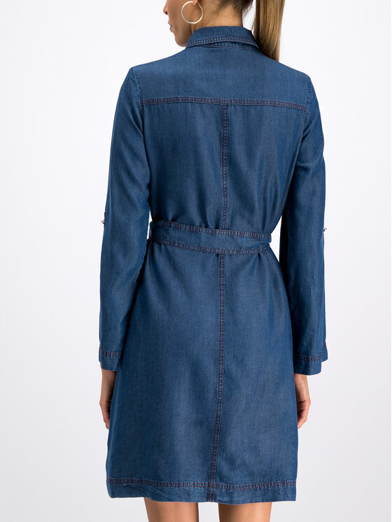 Pennyblack Pennyblack Vestito chemisier Mango 32210119 Blu scuro Regular Fit