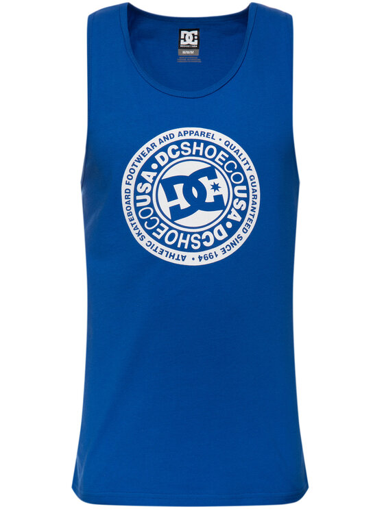 DC DC Tank-Top EDYZT03976 Blau Regular Fit