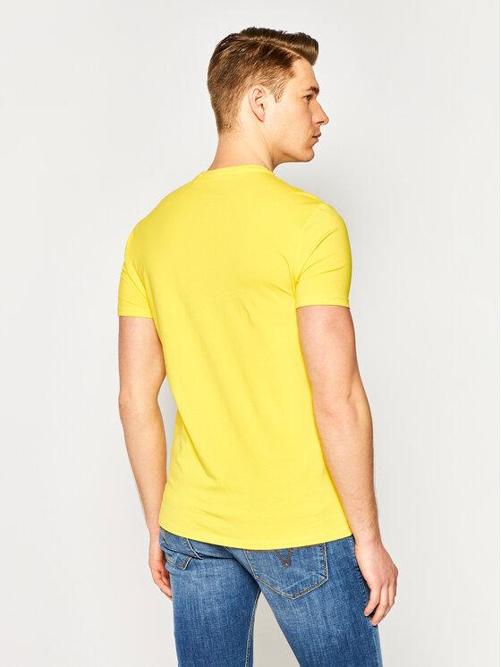 Guess Guess T-Shirt Core Tee M0GI24 J1300 Gelb Super Slim Fit