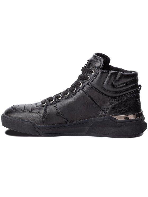 Guess Guess Sneakersy FMKNM4 LEA12 Czarny