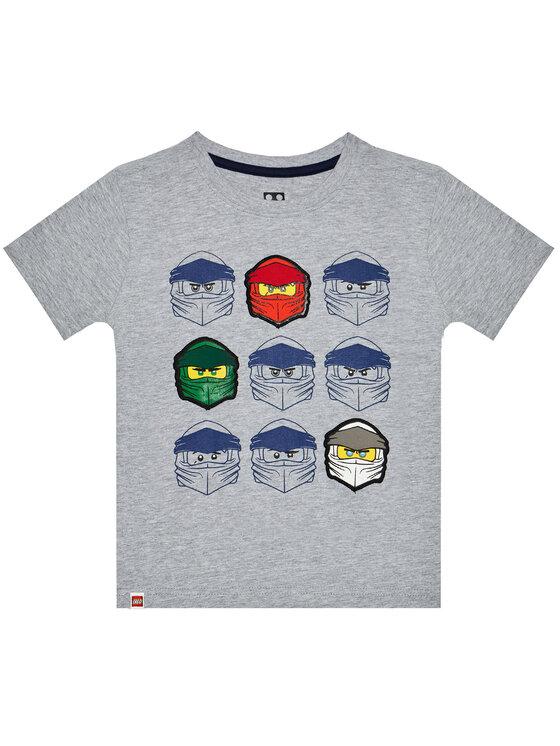 LEGO Wear Marškinėliai 12010022 Pilka Regular Fit