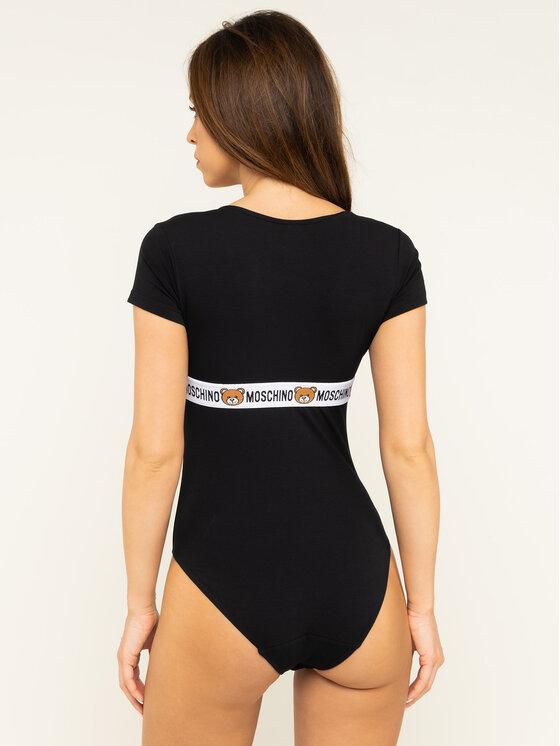MOSCHINO Underwear & Swim MOSCHINO Underwear & Swim Боди A6001 9003 Черен Slim Fit