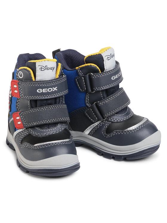 Geox Geox Cizme de zăpadă B Flanfil B.B Abx C B043VC 054FU C4226 M Bleumarin